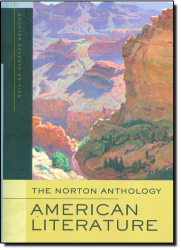 The Norton Anthology of American Literature (Shorter...