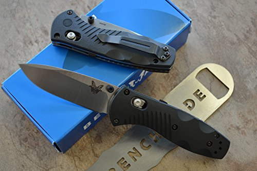Benchmade 585 Mini Barrage Assisted Opening Knife with FREE Benchmade Bottle Opener