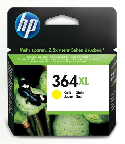 HP 364XL Tintenpatrone gelb