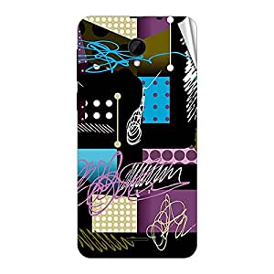 Garmor Designer Mobile Skin Sticker For Intex Aqua Y2 IPS - Mobile Sticker