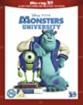 Monsters University (Blu-ray 3D + Blu...
