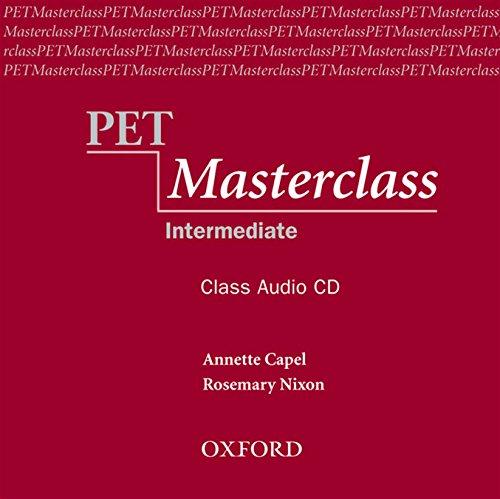 PET Masterclass:: Preliminary English Test Masterclass: Class Audio CD (1) (Preliminary English Test (Pet) Masterclass)