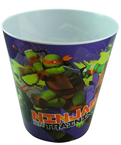 Teenage Mutant Ninja Turtles Plastic Trash Can - TMNT
