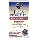 Garden of Life RAW Probiotics Women 50 & Wiser, 90 Capsules
