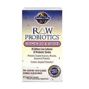 Garden Of Life Raw Probiotics Women 50 Wiser 90 Capsules Health Personal Care