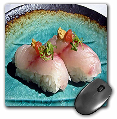 Rick London Fine Art Sushi Gifts - Scrumptious Pieces Of Sushi - MousePad (mp_25816_1)