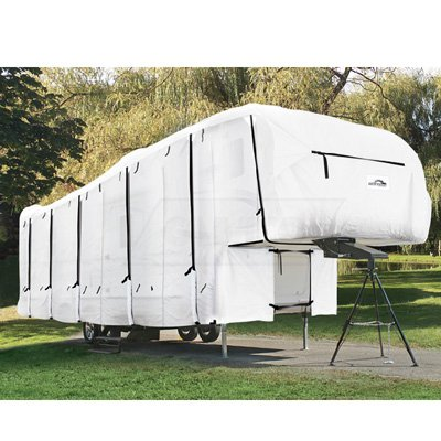 5th Wheel Cover Toy Hauler Cover Fifth Wheel Cover 3-Layer Protection with 3 Year Warranty (33' to 34')