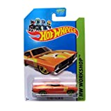 73 Ford Falcon XB '14 Hot Wheels 238/250 (Orange) vehicle