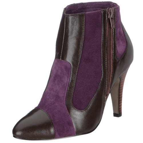Lise Lindvig Patricia 2931066017, Damen Stiefel, braun, (dark brown/purple 324), EU 39