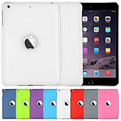 AirPlus AirCase Smart Hardback Protection with Cutout for Apple iPad Mini 3 (White)