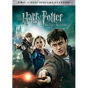 Harry Potter And The Deathly Hallows Part 2 (DVD) - $15 delivered from Amazon