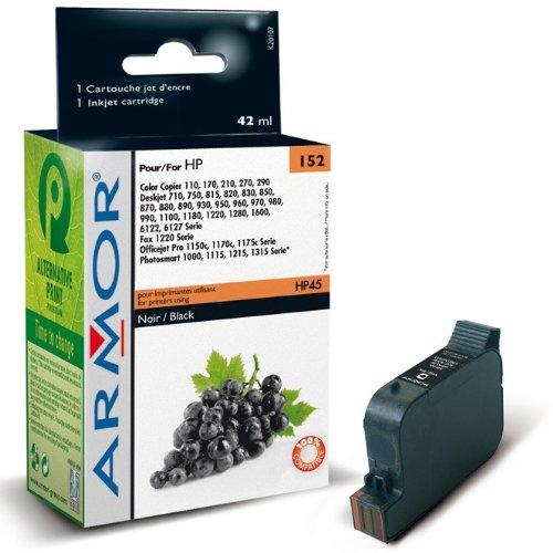 Für HP Deskjet 970 CXI - Black - XL Patrone, Armor kompatible Druckerpatrone für 970CXI, 42ml