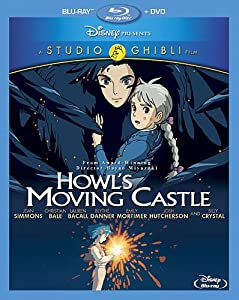 Howl's Moving Castle (Two-Disc Blu-ray/DVD Combo) from Walt Disney Home Entertainment Presents A Studio Ghibli Film