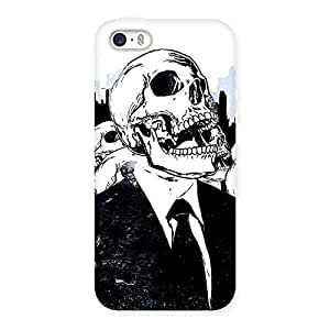 Enticing Skull Laugh Back Case Cover for iPhone 5 5S