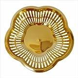 Wedding Gift Basket,Packaging Basket,Golden Basket,Fruit Packing Basket,Chocolate Gifting Basket
