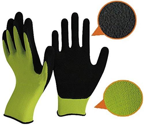 grune-und-schwarze-latex-gartenhandschuhe-von-easy-off-handschuhe-fachschaumlatex-auf-der-handflache