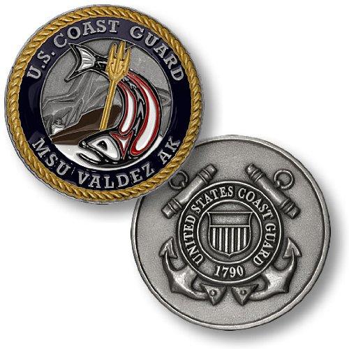 USCG Marine Service Unit Valdez Challenge Coin