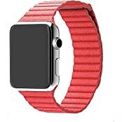 Apple Watch Strap Hoco Genuine Leather High Quality Bracelet For Iwatch 38mm Brown Genuine Cow Genuine Cow Leather...