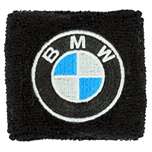 BMW Clutch Reservoir Sock Cover Available in Black and White, Fits BMW Motorrad, HP2, Megamoto Sport, S1000RR, F800R, F800, K1300, R1200, RT, GT, GS
