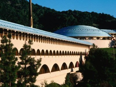 Marin City Civic Center by Frank Lloyd Wright in San Rafael