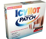 Icy Hot Medicated Patch for Back and Large Area - 10 Patches
