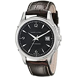 Hamilton Men's Jazzmaster Analog Display Watch (Brown)