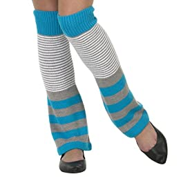 Xhilaration Ivory Legwarmer Mixed Stripe - OS