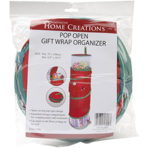 Christmas Gift Wrap Organizer