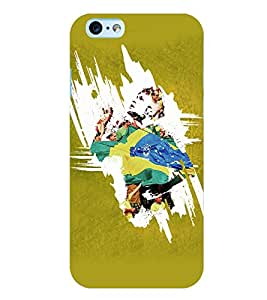 PrintVisa Football Neymar Case Cover for Apple iPhone 6S Plus