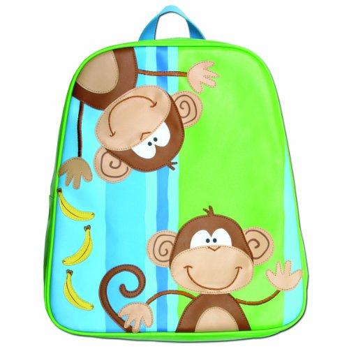 Stephen Joseph Little Boys' Boy'S Go-Go Bag, Monkey, One Size