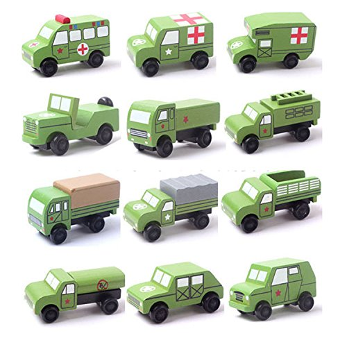 12PCS-Wooden-toys-CAR-kids-Baby-learning-Entertainmentbirthday-gift