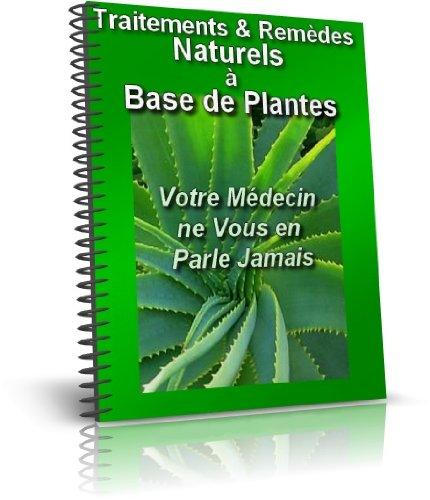 Couverture du livre Traitements & Remèdes Naturels à Base de Plantes