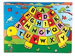 Skillofun My Alphabet Tortoise, Multi Color
