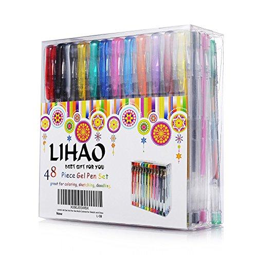lihao-set-de-48-boligrafos-plumas-de-tinta-gel-pens-48-colores