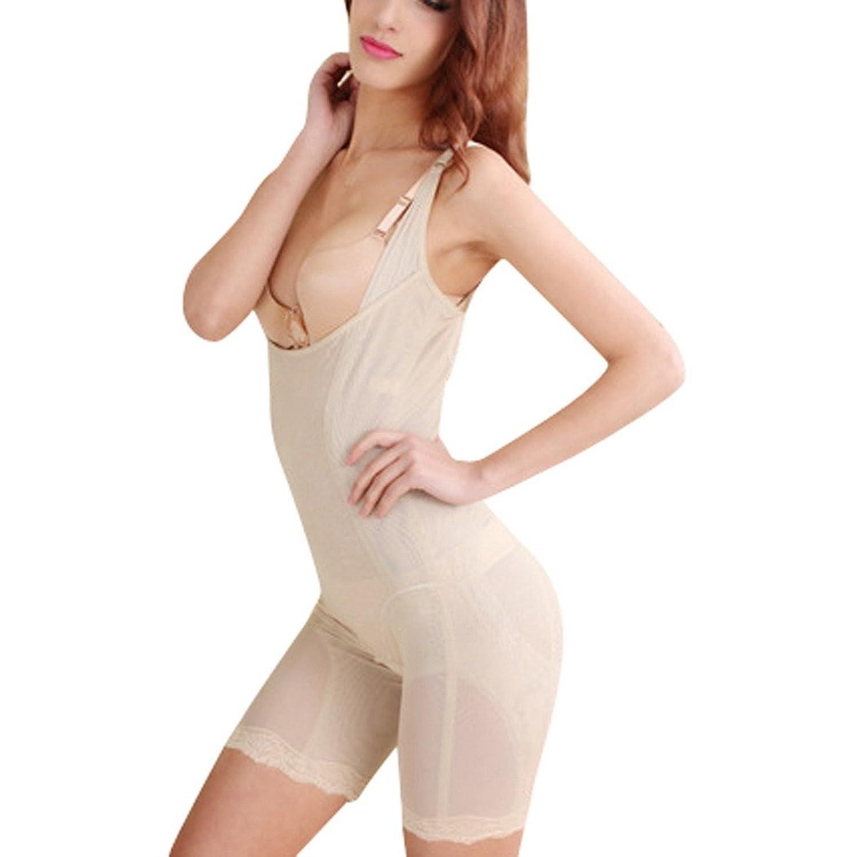 AIVTALK Damen Formende Bodys Body Briefer Bodyshaper Miederpants Push Up Lift Up Bauch Weg Oberschenkel Shaper Shapewear mit offenem Brustbereich günstig kaufen