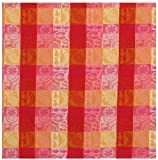 "100% Cotton Red & Pink Fruits 54""x90"" Tablecloth - Fruit Salad"