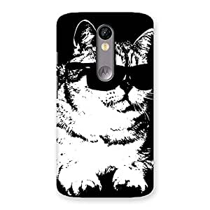Premium Thug Cat Back Case Cover for Moto X Force
