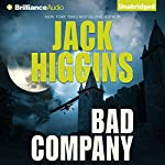 Bad Company: Sean Dillon, Book 11 (       UNABRIDGED) by Jack Higgins Narrated by Michael Page