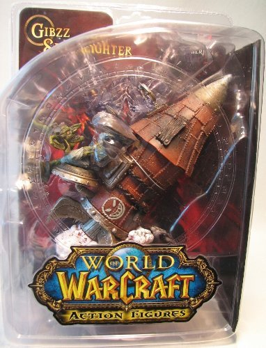 World of Warcraft: Series 6: Goblin Tinker: Gibzz Sparklighter Action Figure by DC Comics