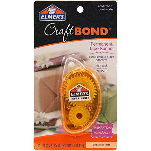 elmers-e4006-craftbond-permanent-tape-runner-31-inch-by-26-1-4-feet-clear