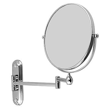 floureon 8 pouces pouces miroir mural grossissant 7 fois extension extension. Black Bedroom Furniture Sets. Home Design Ideas