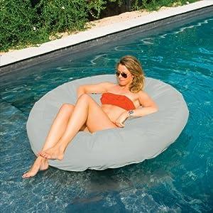 Buy Swimline Sunsoft Island Raft, Grey by Swimline