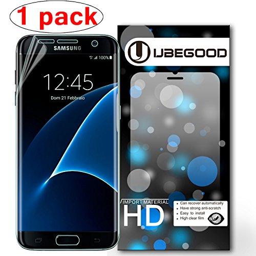 Ubegood Protection écran S7 edge film Définition Screen Protector Transparente Ultra Films de protection d'écran pour Samsung Galaxy S7 edge