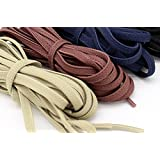 GGT Tiger ELASTIC Stretch Rubber Flat Shoelaces Shoestrings