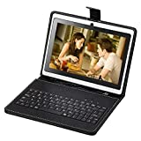 """7"""" New Android 4.4 Tablet PC Dual Camera WIFI 16GB w/ Keyboard&Earphone video review"""