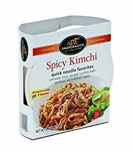 Snapdragon Quick Noodle Spicy Kimchi 86-ounce Pack Of 6 by Snapdragon Foods