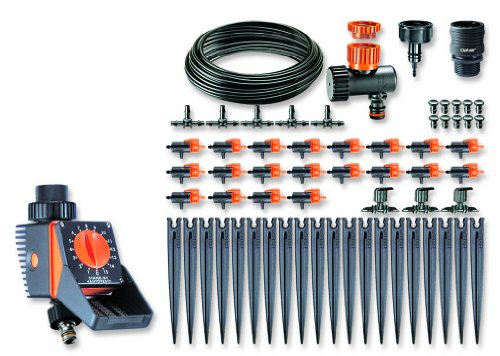 Claber 90762 Automatic Watering Drip Kit With Logica Water
