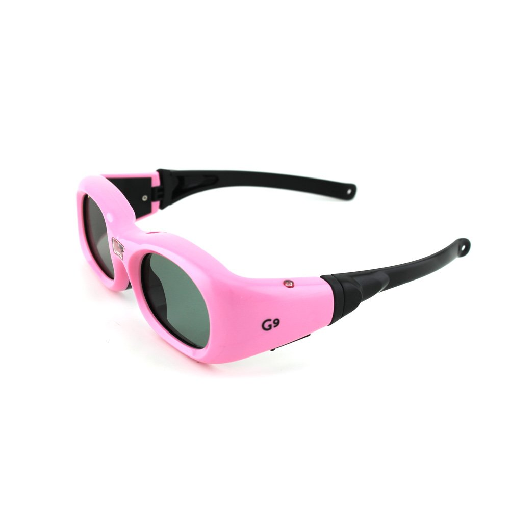 Compatible ViewSonic PGD-150 Kids Pink DLP-Link 3D Glasses by Quantum3D (G9) compatible epson g5 universal 3d glasses by quantum 3d