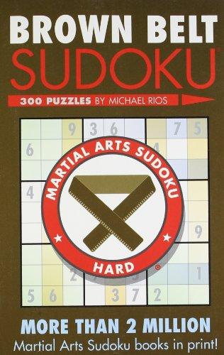 Brown Belt Sudoku (Martial Arts Sudoku)
