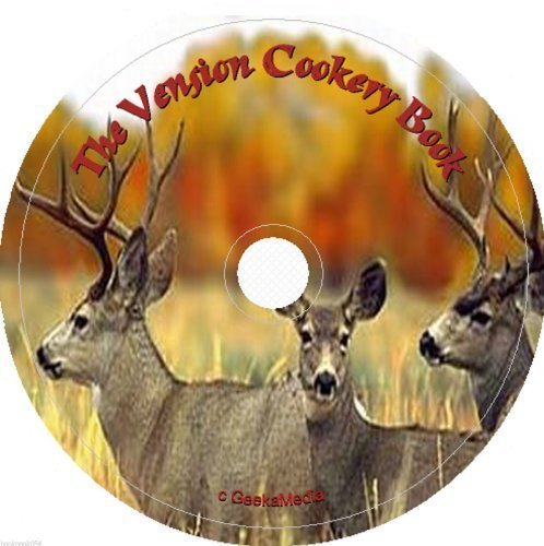 The Venison Cookery Recipe Book on cd